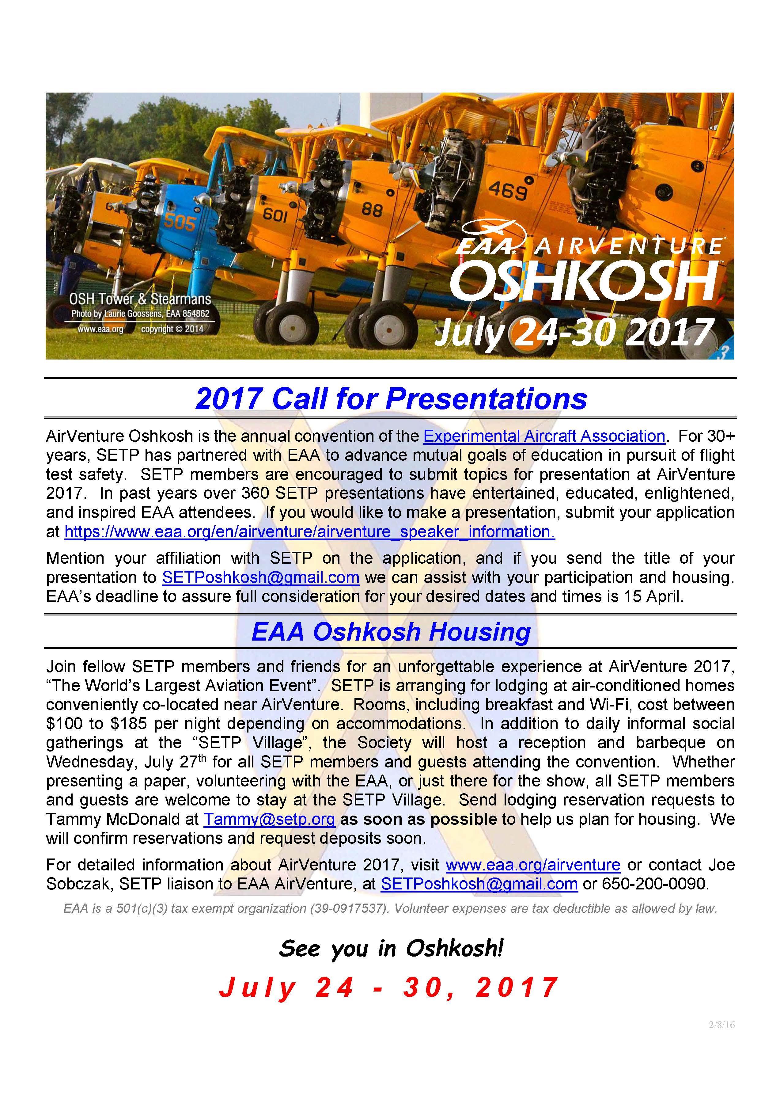 2017 EAA