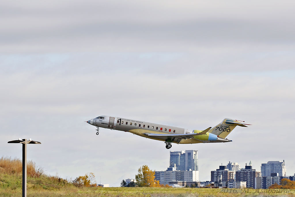 Bombardier First Flight