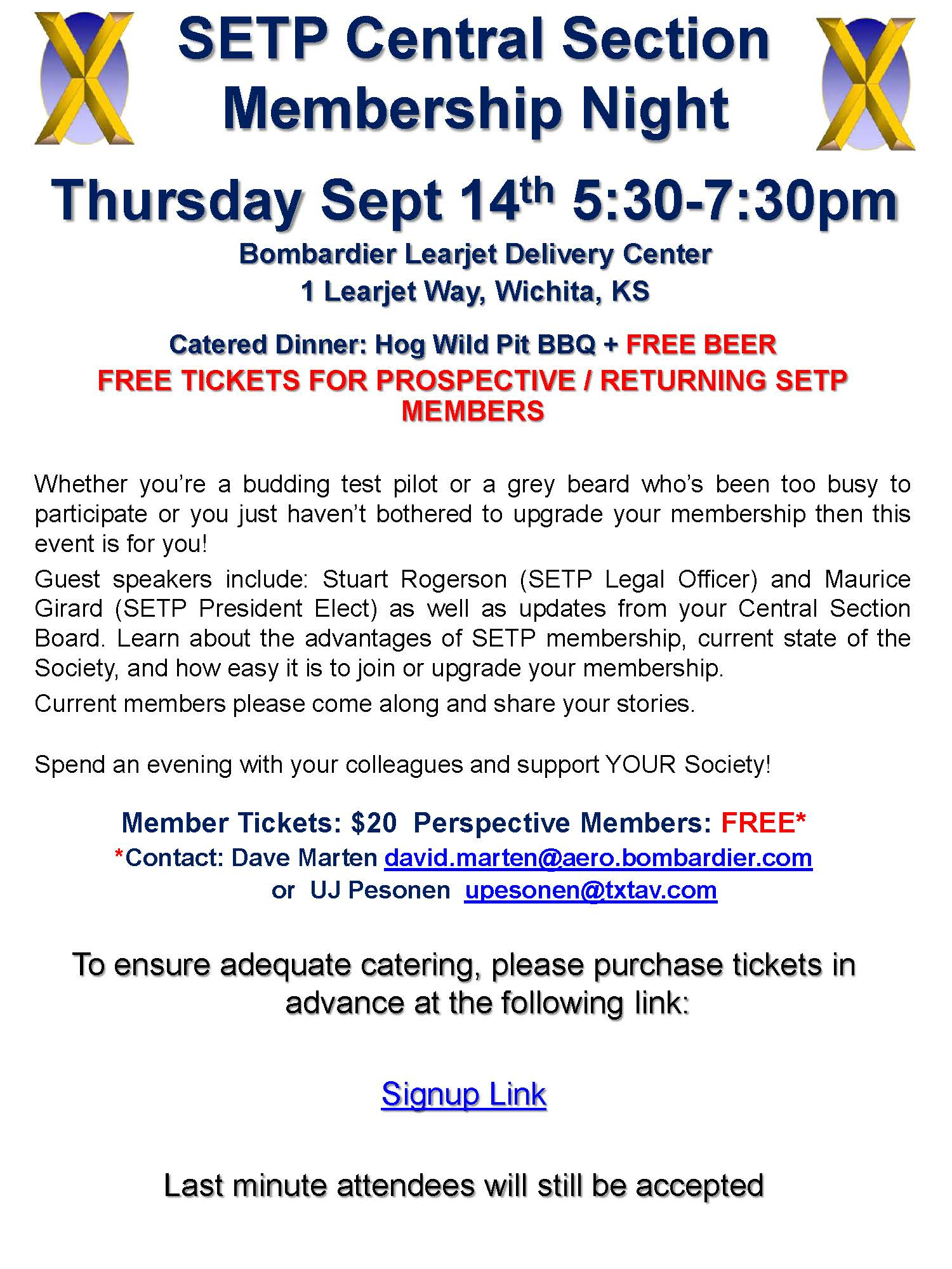 Central Section Membership Night Sep 2017
